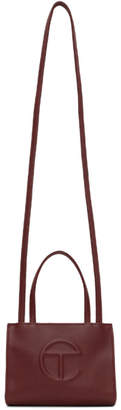 Telfar Burgundy Small Shopping Tote