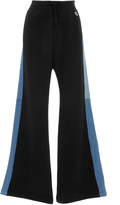 RE/DONE Denim Side Seam Wide Leg Knit Pant