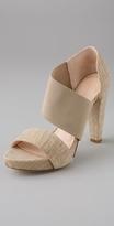 Darby Asymmetrical Banded Platform Sandals