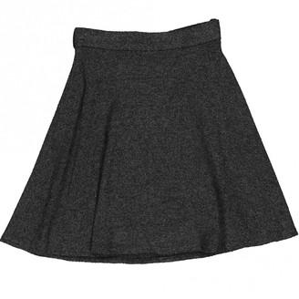 Louis Vuitton \N Anthracite Viscose Skirts