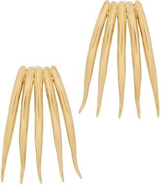 ARIANA BOUSSARD-REIFEL Tigre Brass Drop Earrings