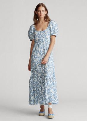 Ralph Lauren Floral Linen Dress