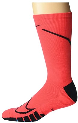 Nike Squad Crew - Canvas (Laser Crimson/Black) Low Cut Socks Shoes