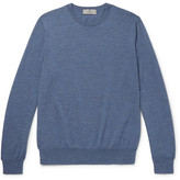 Canali Wool Sweater - Storm blue
