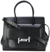 Tod's Amu zip satchel - women - Calf Leather - One Size