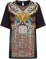 Roberto Cavalli Flying Wings Print T-Shirt