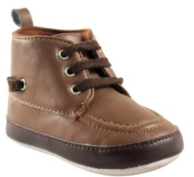 Luvable Friends High Top Boat Shoes, 0-18 Months