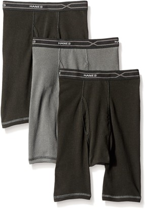 Hanes Men's 3-Pack X-Temp Comfort Cool Long Leg Boxer Brief