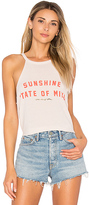 Spiritual Gangster Sunshine State Of Mind Tank in Beige. - size L (also in M,S,XS)