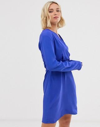 Pieces v neck dress