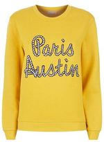 Claudie Pierlot Travel Slogan Sweater