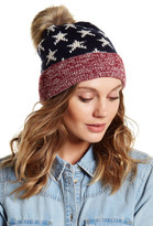 David & Young Knit Americana Beanie