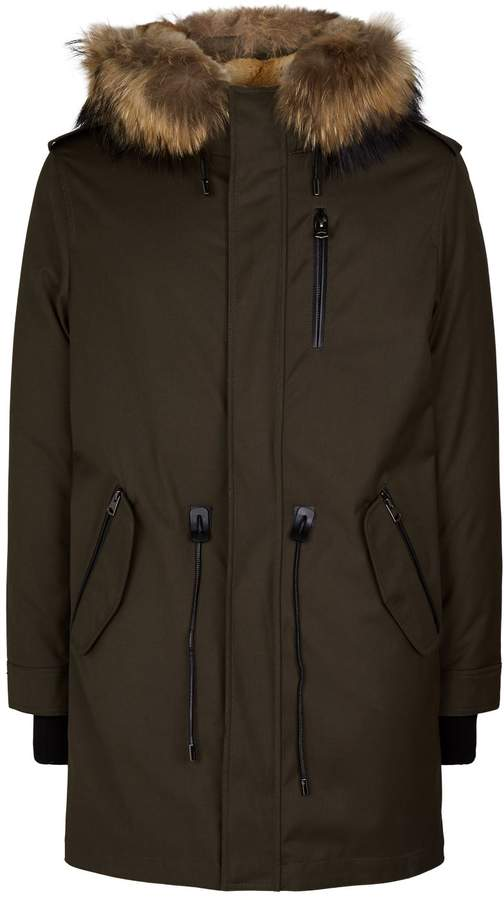 Mackage Fur-Lined Hooded Parka