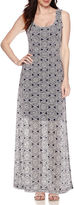 Ronni Nicole RN Studio by Sleeveless Medallion-Print Burnout Maxi Dress