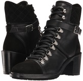 The Kooples Steffy Boots in A Smooth Leather and Calfskin Suede Mix Women's Lace-up Boots