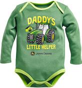 John Deere Green 'Daddy's Helper' Bodysuit - Infant