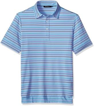 Bugatchi Men's Traditional Four Button Performance Polo Shirt