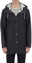 Stutterheim Raincoats Men's Stockholm Raincoat-BLACK