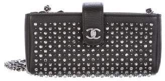 Chanel Studded Mini Pochette Crossbody Bag