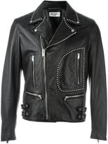 Saint Laurent studded biker jacket