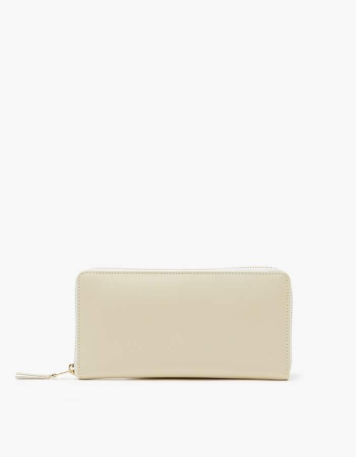 Comme des Garcons Classic Leather Line SA0110 Wallet in Off-White