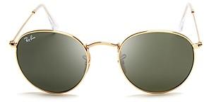 Ray-Ban Unisex Round Sunglasses, 47mm
