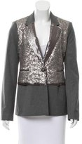 Elizabeth and James Rex Sequined Blazer w/ Tags