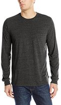 Threads 4 Thought Men's Triblend Long Sleeve Crew Pocket Tee