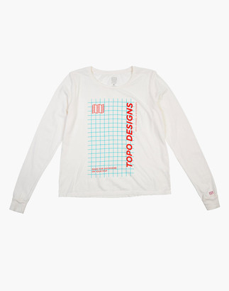 Madewell Topo Designs Women's Long-Sleeve Graph Tee