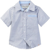 Sovereign Code Moshe Striped Dress Shirt (Baby Boys)
