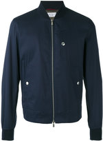 Brunello Cucinelli snap pocket bomber jacket - men - Cotton/Polyamide/Spandex/Elastane/Cupro - 48