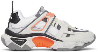 Diesel Grey S-Kipper Low Trek II Sneakers