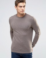 Esprit Crew Neck Cashmere Mix Sweater