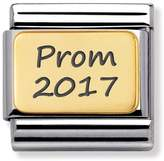 "Nomination Prom 2017"" 18ct Yellow Gold Classic Charm"