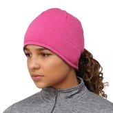 TrailHeads Women's Power Ponytail Hat - berry / cold smoke grey