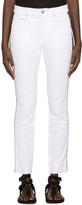 Etoile Isabel Marant White Two-tone Haven Jeans