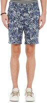 Barneys New York MEN'S MICRO-CANVAS SHORTS