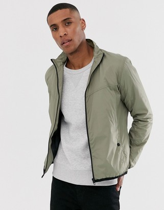French Connection funnel tech jacket-Green
