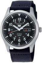 Seiko Men's 5 Automatic SNZG15K Nylon Automatic Watch