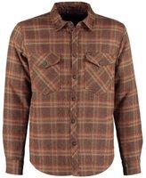 Brixton Manchester Shirt Brown