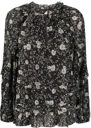 Etoile Isabel Marant Eyden floral-print blouse