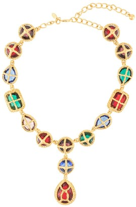 Kenneth Jay Lane Gemstones Necklace