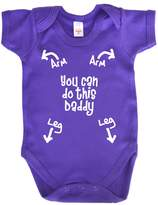 Dirty Fingers, You can do this Daddy, Baby Bodysuit, 0-3m