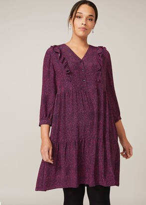 Phase Eight Penny Frill Swing Dress