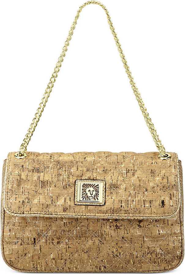 Anne Klein Handbag, Sea Breeze Medium Flap Shoulder Bag