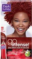 Soft Sheen Carson Dark and Lovely Go Intense Ultra Vibrant Color on Dark Hair, Spicy Red 66 (Packaging May Vary)