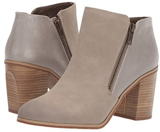 BC Footwear Quite Simple (Taupe V-Nubuck/Pewter Metallic) Women's Zip Boots