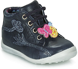 Catimini SALAMANDRE girls's Mid Boots in Blue