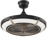 """Pottery Barn 24"""" Pickett Indoor/Outdoor Drum Ceiling Fan"""
