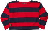 Ralph Lauren Knit Striped Ponte Top